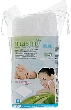 Духи, Парфюмерия, косметика Discuri organice din bumbac, pătrate - Masmi Natural Cotton