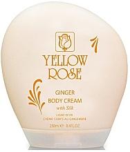 Parfumuri și produse cosmetice Cremă-lapte de corp - Yellow Rose Ginger Body Cream