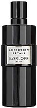 Parfumuri și produse cosmetice Korloff Paris Addiction Petale - Apă de parfum (tester cu capac)
