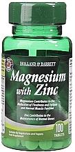 """Parfumuri și produse cosmetice Supliment alimentar """"Magneziu cu zinc"""" - Holland & Barrett Magnesium With Zinc"""