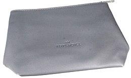 """Parfumuri și produse cosmetice Trusă cosmetică """"Leather"""", 96952, gri - Top Choice"""