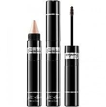 Parfumuri și produse cosmetice Rimel-iluminator pentru sprâncene 2în1 - Guerlain La Petite Robe Noire Brow Duo