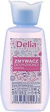 Parfumuri și produse cosmetice Dizolvant pentru lac de unghii - Delia Nail Polish Remover