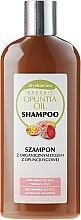 Parfumuri și produse cosmetice Șampon cu ulei organic de cactus Opuntia - GlySkinCare Organic Opuntia Oil Shampoo