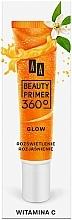 Parfumuri și produse cosmetice Bază cu vitamina C pentru machiaj - AA Beauty Primer 360 Glow Make-Up Base Vitamin C