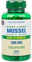 Parfumuri și produse cosmetice Supliment alimentar pentru articulații și ligamente - Holland & Barrett Green Lipped Mussel 500mg