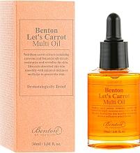 Parfumuri și produse cosmetice Ser multifuncțional cu ulei de semințe de morcov - Benton Let's Carrot Multi Oil