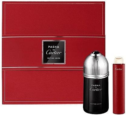 Cartier Pasha de Cartier Edition Noire - Set (edt/100ml + edt/15ml) — Imagine N1