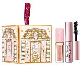 Parfumuri și produse cosmetice Set - Too Faced Pretty Little Present (masc/4.8ml + l/gloss/4ml)