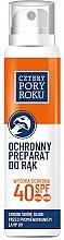 Parfumuri și produse cosmetice Spray pentru protejarea pielii mâinilor în lampă UV - Cztery Pory Roku UV Hibrid Protection