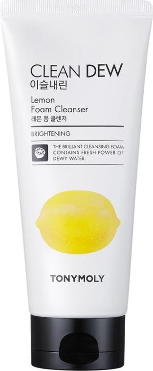 Spumă de curățare - Tony Moly Clean Dew Foam Cleanser Lemon