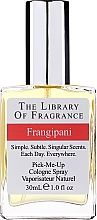 Parfumuri și produse cosmetice Demeter Fragrance The Library of Fragrance Frangipani Pick-Me-Up Cologne Spray - Одеколон