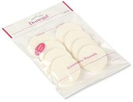 Parfumuri și produse cosmetice Burete de machiaj, alb, 8 buc., 4302 - Donegal Sponge Make-Up