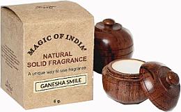 "Parfumuri și produse cosmetice Cremă-parfum natural ""Ganesha Smile"" - Shamasa"