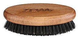Parfumuri și produse cosmetice Perie pentru barbă și mustăți - Zew Brush For Beard And Mustache