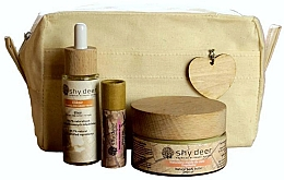 Parfumuri și produse cosmetice Set - Shy Deer Zero Waste Set (elixir/30ml + body/butter/100ml + lip/butter/12ml + bag)