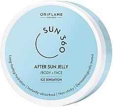 Parfumuri și produse cosmetice Cremă după plajă pentru față și corp - Oriflame Sun 360 After Sun Jelly Body + Face Ice Sensation