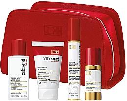 Parfumuri și produse cosmetice Набор - Cellcosmet (lot/90ml + gel/60ml + ser/15ml + cr/30ml + bag/1/pcs)