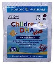 "Parfumuri și produse cosmetice Supliment alimentar pentru copii, struguri 636 mg ""Omega-3"" - Nordic Naturals Children's DHA Xtra"