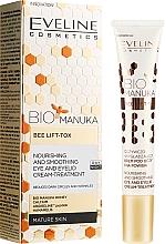 Parfumuri și produse cosmetice Cremă pentru zona ochilor - Eveline Cosmetics Bio Manuka Bee Lift-tox