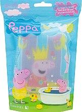 """Parfumuri și produse cosmetice Burete de baie """"Peppa Pig"""" pentru copii, Peppa cu coroană - Suavipiel Peppa Pig Bath Sponge"""