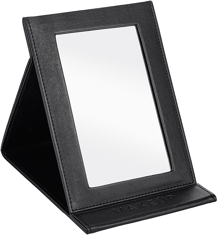 Oglindă tip carte, neagră - MakeUp Tabletop Cosmetic Mirror Black