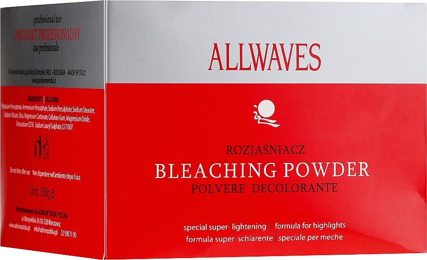 Порошок для осветления волос - Allwaves Bleaching Powder — фото N1