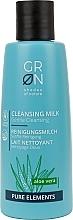 Parfumuri și produse cosmetice Lapte de curățare pentru față - GRN Pure Elements Aloe Vera Cleansing Milk