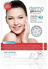 Parfumuri și produse cosmetice Mască de față - Dermo Pharma Skin Repair Expert Firming Rejuvenating Mask 4D