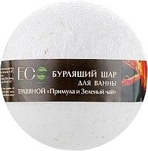 """Parfumuri și produse cosmetice Bile efervescente pentru baie """"Primula și Ceai verde"""" - ECO Laboratorie Herbal Bomb"""