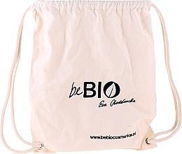 Parfumuri și produse cosmetice Set în eco rucsac - BeBio Chia And Japanese Cherry Flower Set (sh/gel/400ml + b/lot/200ml + deo/roll-on/50ml + h/cr/75ml)