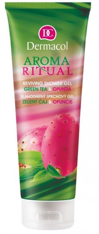 Gel de duș - Dermacol Aroma Ritual Green Tea & Opuntia Shower Gel — Imagine N1