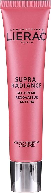 Cremă-gel regenerant cu antioxidanți - Lierac Supra Radiance Gel-Creme Renovatrice Anti-Ox — Imagine N6
