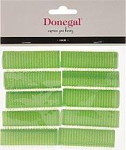 Parfumuri și produse cosmetice Bigudiuri Velcro, 20 mm, 10 buc. - Donegal Hair Curlers