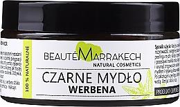 "Parfumuri și produse cosmetice Săpun natural negru ""Verbena"" - Beaute Marrakech Savon Noir Moroccan Black Soap"