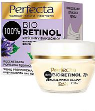 Parfumuri și produse cosmetice Cremă antirid 70+ - Perfecta Bio Retinol 70+ Anti-Wrinkle Day And Night Cream-Firming