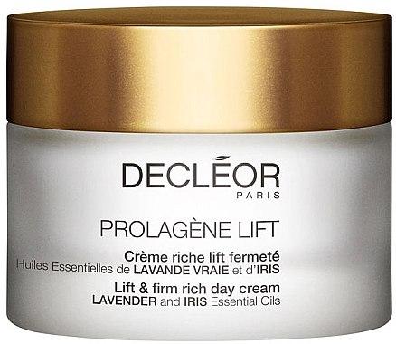 Cremă de față - Decleor Prolagene Lift Lift & Firm Rich Day Cream Lavender and Iris — Imagine N1