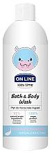 Духи, Парфюмерия, косметика Spumă hipoalergenică de baie - On Line Kids Time Bath & Body Wash Hypoallergenic