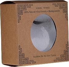 Parfumuri și produse cosmetice Burete natural pentru curățarea feței, inimă - Lash Brow Konjac Sponge