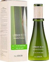 Parfumuri și produse cosmetice Emulsie pentru față cu 83% extract de in - The Saem Urban Eco Harakeke Emulsion