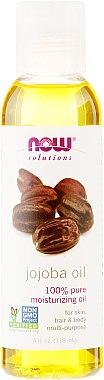 Ulei de Jojoba - Now Foods Solutions Jojoba Oil — фото N1