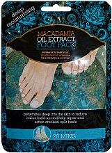 Parfumuri și produse cosmetice Maseczka do styp - Xpel Marketing Ltd Macadamia Oil Extract Foot Pack