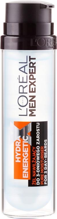 Gel hidratant pentru barbă aspră - L'Oreal Paris Men Expert Hydra Energetic X — Imagine N2