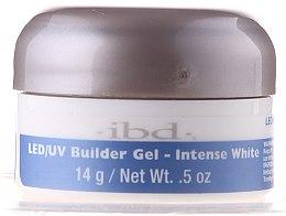 Parfumuri și produse cosmetice Gel de Construcție alb pentru unghii - IBD LED/UV Builder Intense White Gel