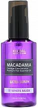 """Parfumuri și produse cosmetice Ser de păr """"Mosc alb"""" - Kundal Macadamia White Musk Ultra Serum"""