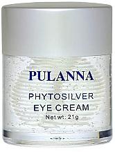 Parfumuri și produse cosmetice Cremă pentru zona ochilor - Pulanna Phytosilver Eye Cream
