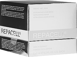 Parfumuri și produse cosmetice Ser facial pentru ten matur - Klapp Repacell Extra Antiage Liquid Serum Mature