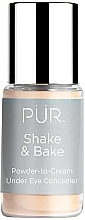 Parfumuri și produse cosmetice Concealer - Pur Shake & Bake Powder-to-Cream Under Eye Concealer