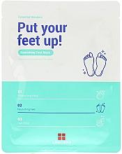 Parfumuri și produse cosmetice Mască hidratantă pentru picioare - Leaders Essential Wonders Put Your Feet Up! Mask