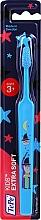 Parfumuri și produse cosmetice Periuță de dinți pentru copii de la 3 ani, albastră cu magician - TePe Kids Extra Soft